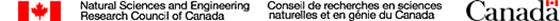 Natural Sciences and Engineering Research Council of Canada - Government of Canada