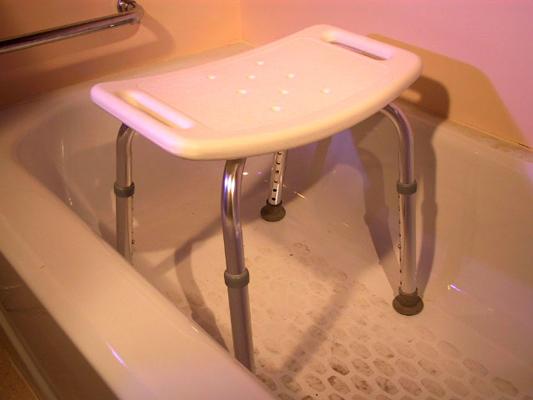 Bath Seat - White