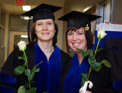 Christina Tomkins & Riikka Niemelainen grad picture